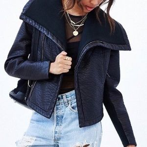 Pins & Needles Vegan Leather Jacket